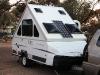 al had ik zelf graag voor de hele reis zo\'n vouwwagen met zonnecellen!