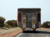 En erg brede 'Over Size' inhalen op de snelweg is inderdaad behoorlijk moeilijk,