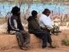 als we naar de Aboriginal-stad Coober Pedy karren.