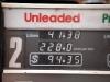 de benzine nu (tja, dit is de Outback!) maar liefst 2,28 kost, en...