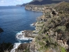 Woensdag gingen we naar het Tasman Peninsula: