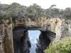 en even verderop de zogenaamde Tasman Arch,