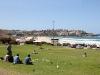 Onze laatste dag in Sydney gaan we nog naar Bondi Beach,