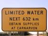 Gezien dit bord \'moesten\' wij wel in Carnarvon zijn,