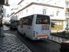 en nee, we namen geen luxe minibus om Ponta Delgada verder te bekijken,