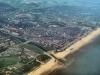 en even later vliegen we echt over ons eigen Katwijk, en dan zijn we snel thuis!