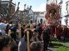 'Senhor Santo Cristo' is uit de kerk gehaald en wordt nu rond gedragen