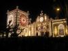 Dan wordt de kerk van Santo Cristo ook schitterend verlicht