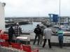 De dag er na is een vrije dag, al weten de vissers niet goed, hoe die te besteden -
