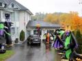 In Bancroft zien we dan hoe de Halloween-gekte al heeft toegeslagen.