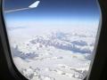 en later zien we Groenland onder ons,