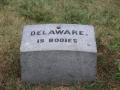 bij de erebegraafplaats van de Civil War, de burgeroorlog