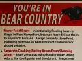 want we zijn nu in 'Bear Country'