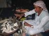 Daarna ga ik nog koffie drinken bij deze Bedouine uit...Shalateen!