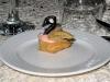 en weer een zwaan de 31ste december, als ze jarig is, maar nu als piepklein taartje ...