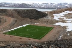 97 en ik ontdek er later zelfs een voetbalveld met kunstgras. Maar of dit ook gebruikt wordt?