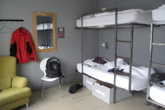 125 Daar ga ik nu in het Hlemmur Square Hostel in een vierpersoons zaaltje slapen - toch wel wat rustiger
