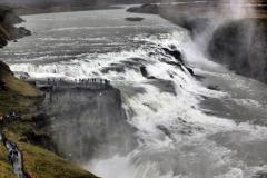 138 van de voor mij toch echt onverwacht spectaculaire Gulfoss (Gouden waterval).