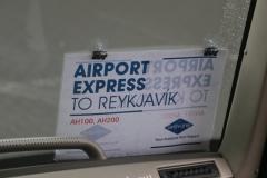 154 want het is al weer tijd om de bus naar het Keflavik Airport te nemen