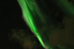 82 De nacht daarna zie ik voor het eerst dit mooie Noorderlicht ('aurora borealis'),