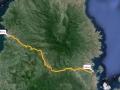 114 Zaterdag willen we weer verder reizen, van Bima naar de kust
