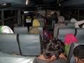 116 De volgende ochtend is het nog donker als we in het busje van Bima naar Sape stappen,