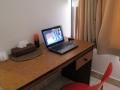 132 met een zijkamertje waar ik goed aan onze Reiswebsite kan werken
