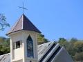 139 niet iedereen is hier moslim en er zijn ook kerken zoals deze (toevallig net naast onze Lodge),