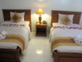 190 Terug in Kuta, op Bali kies ik nu een 'Luxury Room' en de bloemen laten dat al zien. Ik zeg: