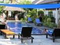 26 dichterbij het zwembad van het Gili Palms Resort