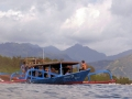 42 Maar daarna ga ik ook weer duiken, met deze boot van Gangga Divers