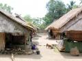 69 en kijken we rond in Senaru, een traditioneel Sasakdorp