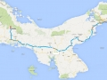 voor een urenlange tocht van de hoofdstad naar het hoog gelegen Boquete.