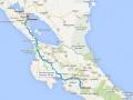 We willen namelijk eerst nog verder naar het noorden, naar  Nicaragua,
