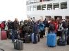 Nog één keer koukleumen op de kade van Longyearbyen
