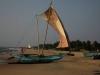 Dit is hier nu ons uitzicht in Negombo