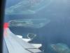 Zo vliegen wij even later zelf ook weer weg van de Malediven,