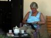Terwijl Corry leest en Ceylon thee drinkt