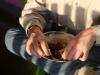 \'s Avonds eten we nog heerlijke roti bij Rob Mooij,