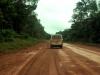 Maar dit is dan de weg naar Albina, de grensplaats: