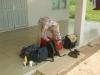 Bij de grensrivier, in Albina herpakken we de boel, nemen alleen handbagage mee