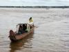 die we even later volgeladen weer naar Suriname terug zien varen.