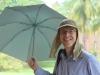 en de vandaag nog gekochte parapluutjes komen dus goed van pas!