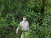 ...of ik hem -met mijn jachtmes-, dus we zijn goed voorbereid op alle jungle-gevaren