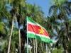 nu we in zonnig Suriname zijn aangekomen.