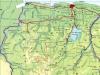 Hierna willen we naar Nieuw Nickerie rijden, naar de westgrens van Suriname - bij de witte pijl op de kaart.
