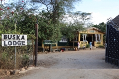 Voor mij is het dan weer tijd om naar de Buska Lodge terug te keren