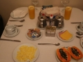 10 genieten we van een prima ontbijt