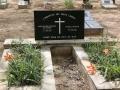 107 Daarna loop ik nog naar een kerkhof vol Duitse namen.