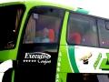 129 en dat doen we dit keer met deze luxe bus, een Marco Polo dubbeldekker,